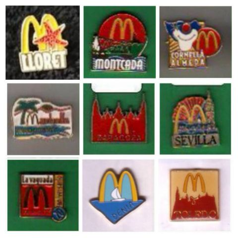 PINS MC DONALD'S